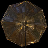 umbrella reflective warmlight out